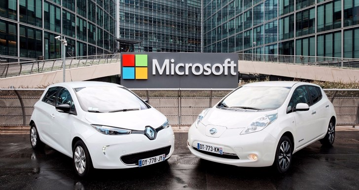 Renault-Nissan Microsoft Partnership