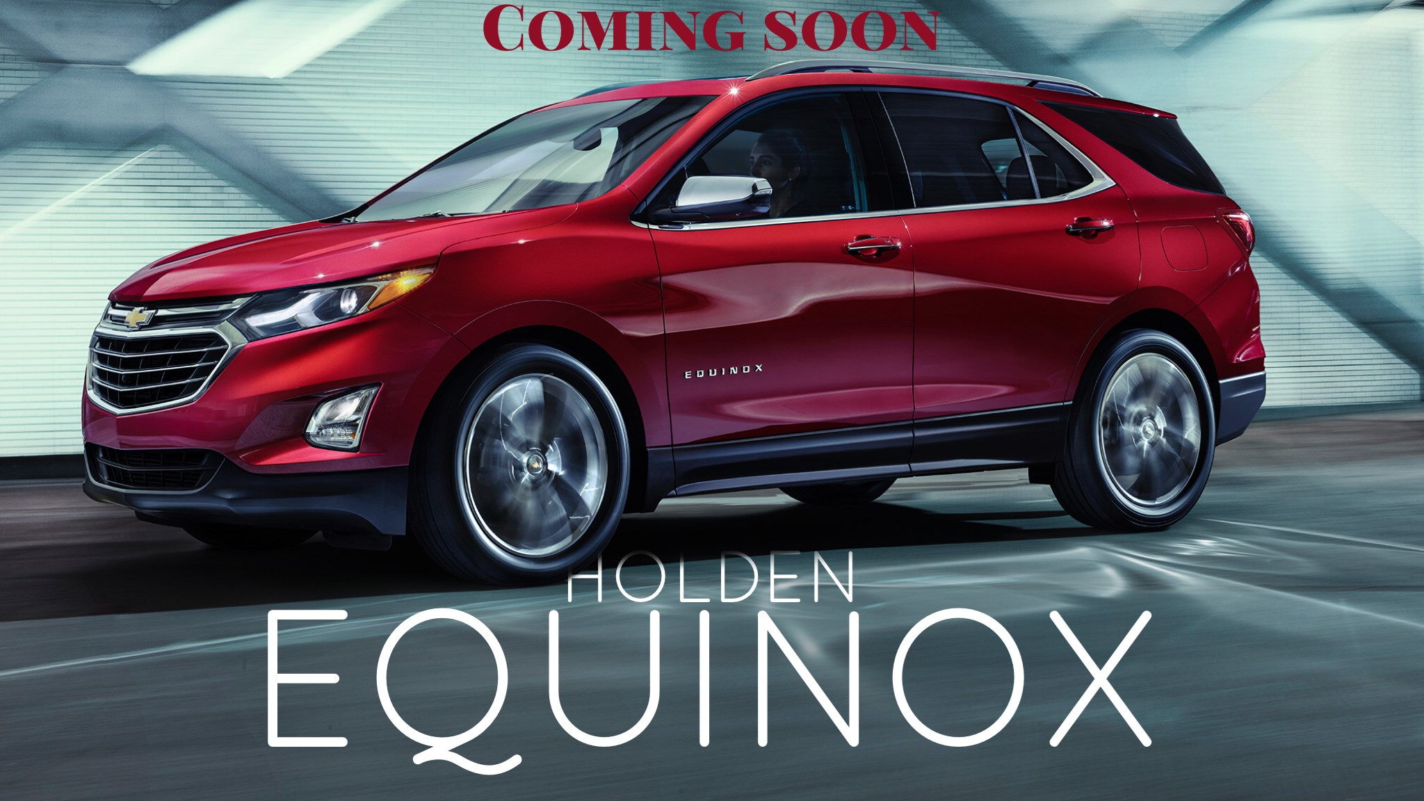 All-New 2018 Equinox Will Join Holden SUV Range