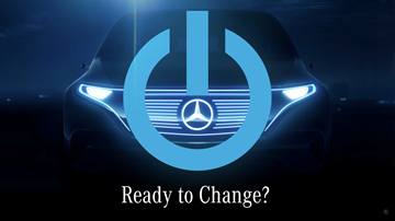 Mercedes-Benz Teases Futuristic EV Concept For Paris