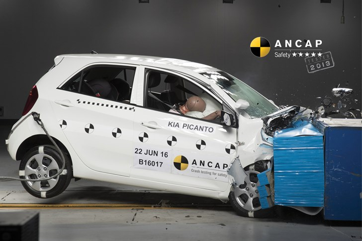 Kia Picanto Retains 5 Stars After ANCAP Audit