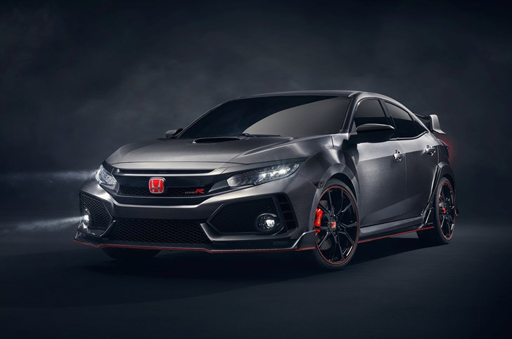 2018 Honda Civic Type R Prototype - Paris Motor Show
