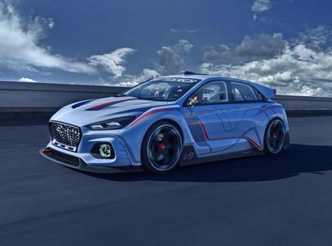 2016 Hyundai RN30 Concept - Paris Motor Show