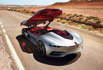 Renault's Trezor Concept, High Performance EV GT