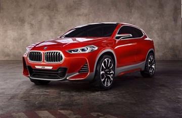 2016 BMW Concept X2 - Paris Motor Show