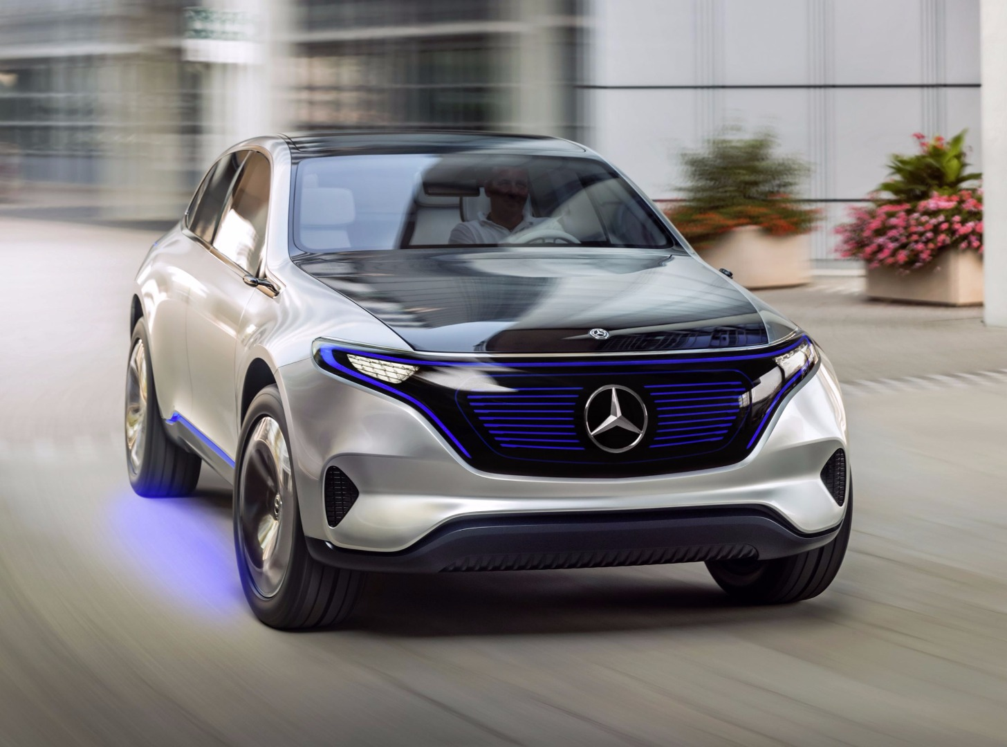News Mercedes Benz Unveils Generation Eq In Paris