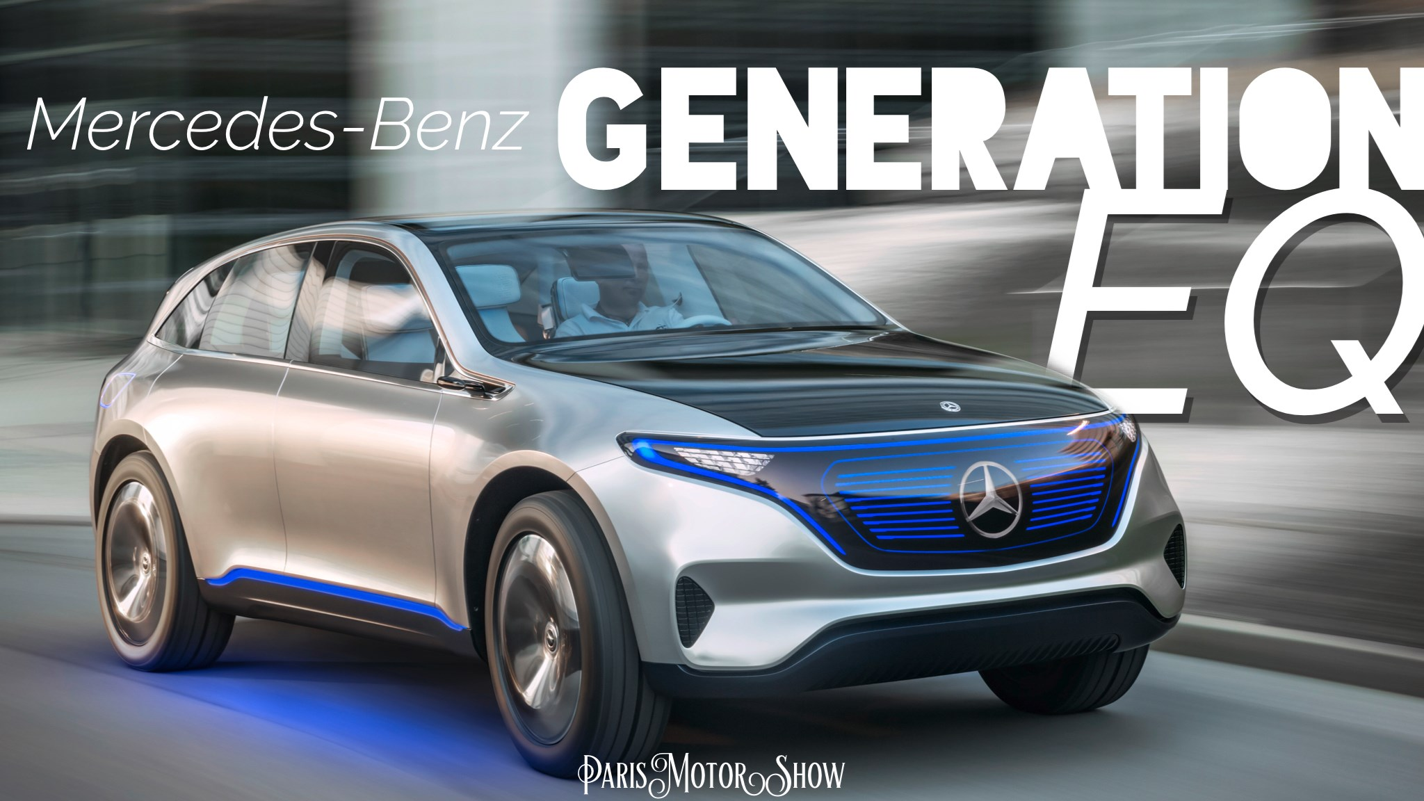 Mercedes-Benz Unveils Generation EQ In Paris