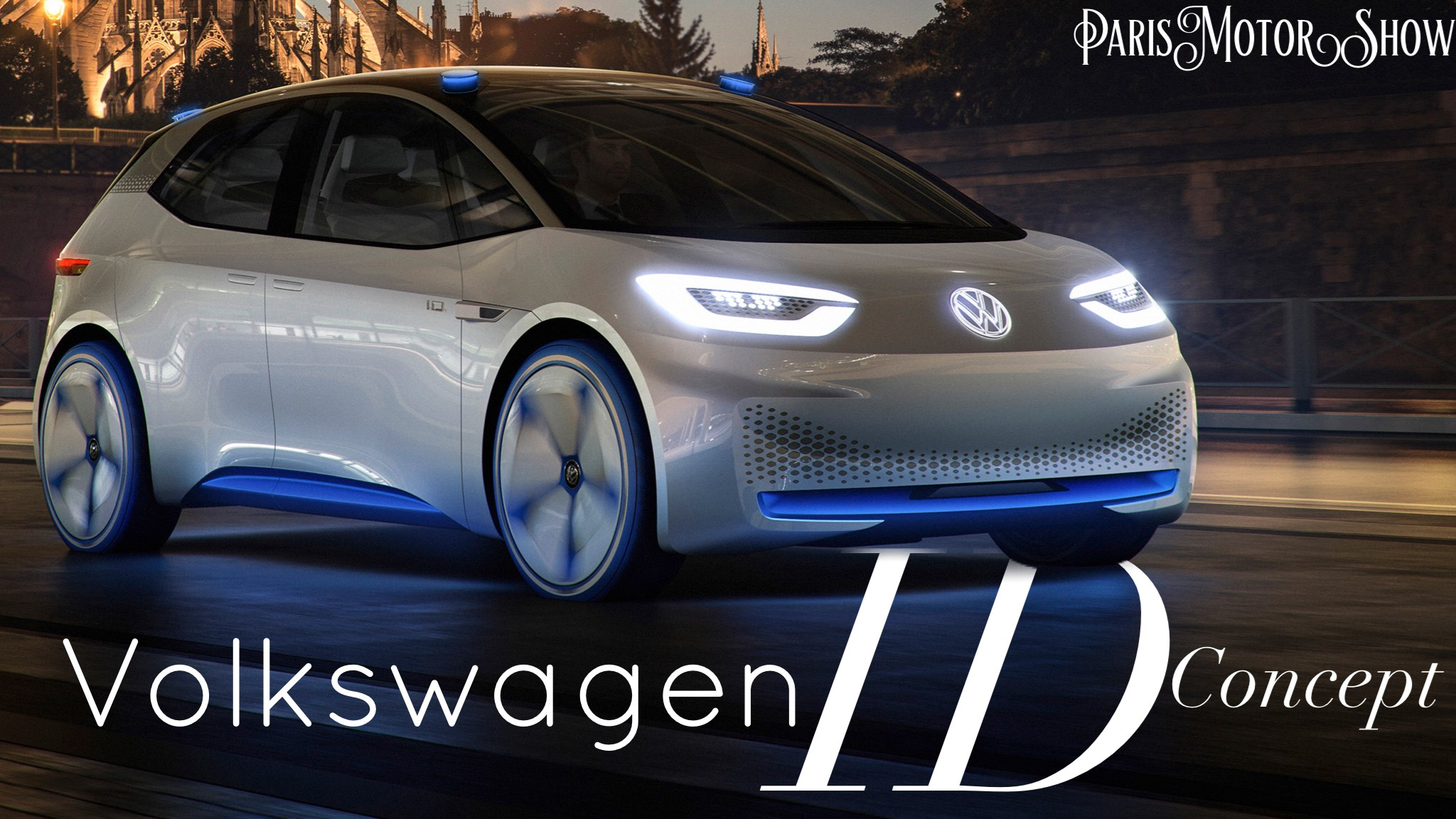 Volkswagen's ID Concept Makes Paris Debut