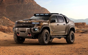2016 Chevrolet Colorado ZH2 Fuel Cell Military Vehicle