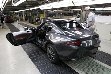 Production Begins On Mazda MX-5 RF