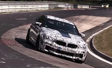 2018 BMW M5 (F90) - Nurburgring Test