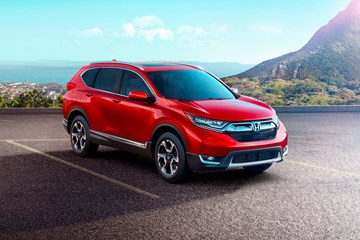 Honda Reveals All-New 5th-Gen CR-V For 2017