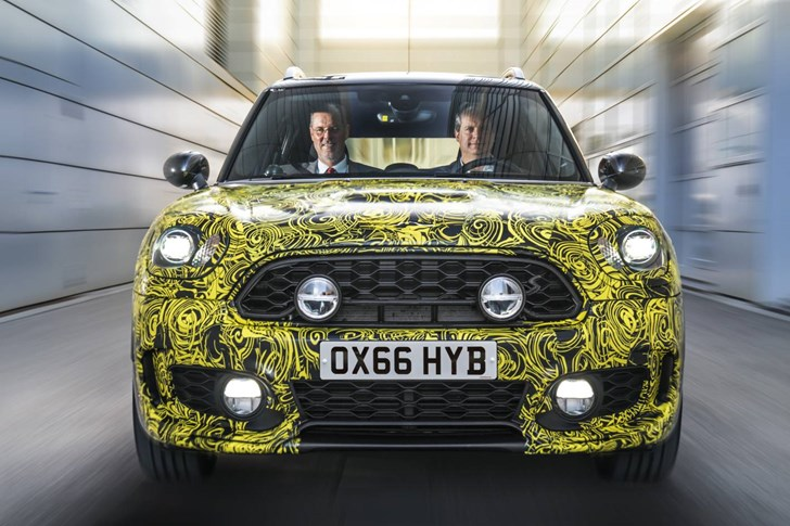 2017 MINI Countryman Hybrid - Prototype