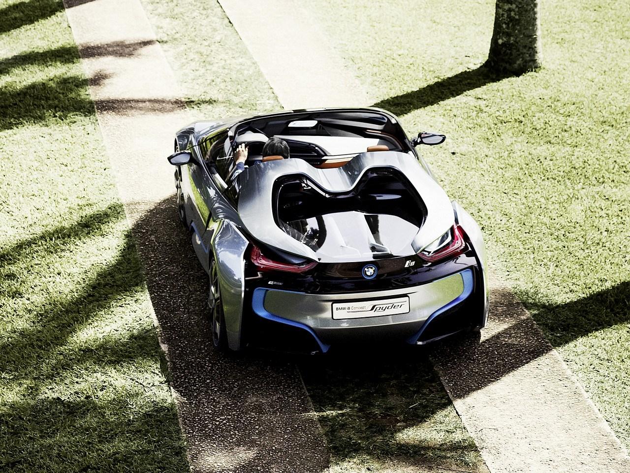 2018 bmw concept car.  2018 BMW Chief Confirms I8 Spyder For 2018 Arrival With Bmw Concept Car