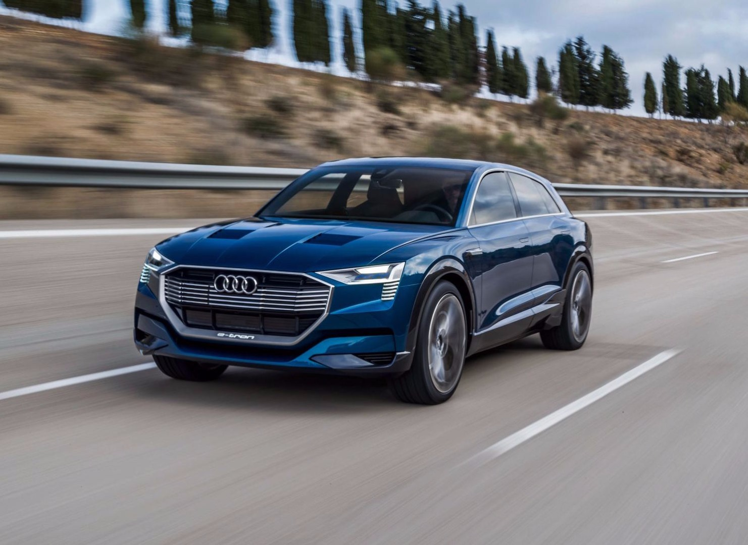 news audi e tron suv confirmed as first production ev model. Black Bedroom Furniture Sets. Home Design Ideas