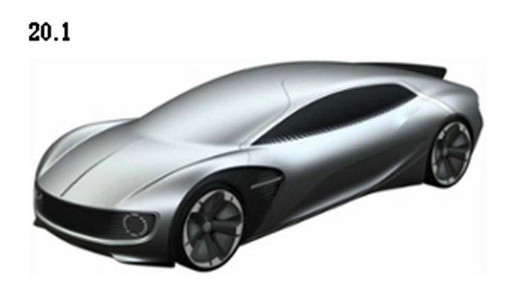 Patent Images Preview Volkswagen's EV Sports Car