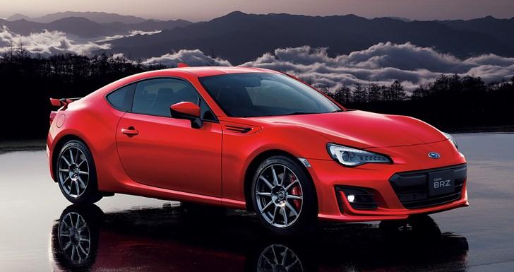 Subaru Introduces Top-Spec BRZ GT For Japanese Market