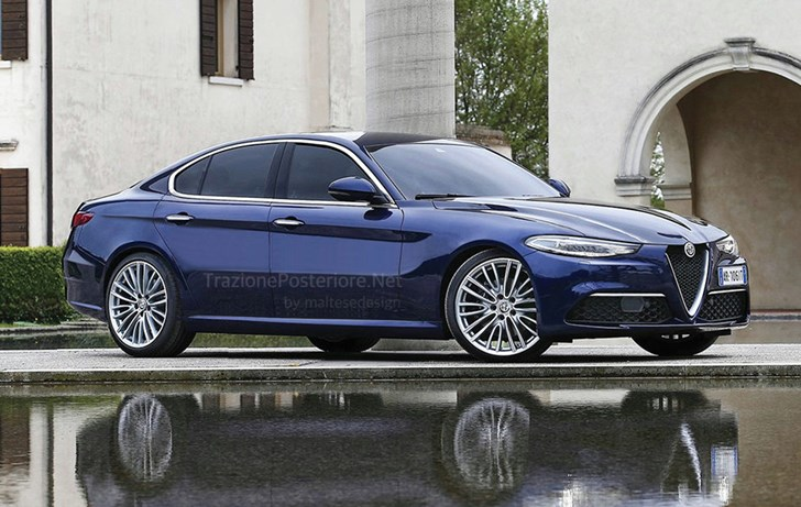 Alfa Romeo's 5 Series Rival, Alfetta, Could Be This Handsome