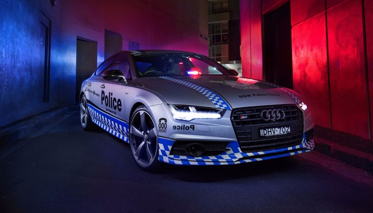 Audi S7 Sportback Goes On Duty As Part Of NSW Police Force