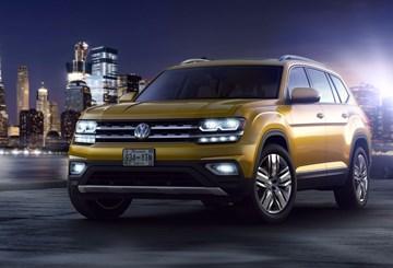 Volkswagen Official Reveals Atlas SUV For North America