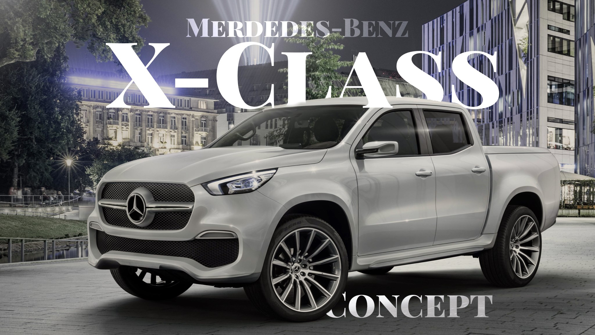 X-Class Concept Is Preamble To Mercedes-Benz's First Pick-Up