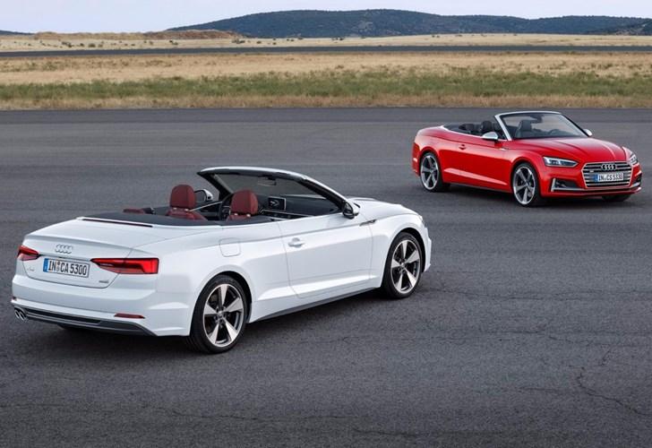2017 Audi A5, S5 Cabriolet - LA Auto Show Preview