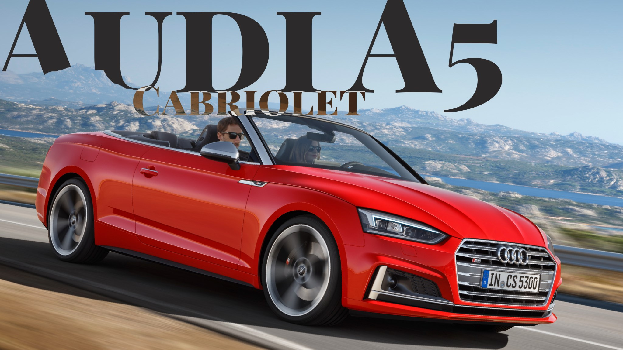 Audi Previews All-New A5 Cabriolet Ahead Of LA Auto Show
