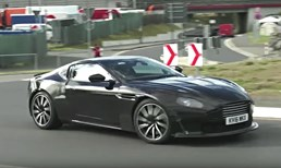 Aston Martin's Next Vantage With An AMG Soundtrack