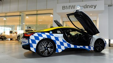 BMW i8 Joins Rose Bay Police Department