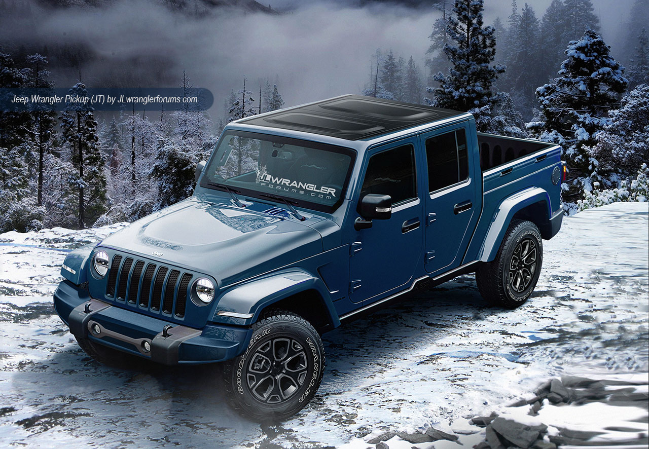 News 2018 Jeep Wrangler Could Look Like This