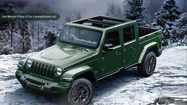 news 2018 jeep wrangler could look like this. Black Bedroom Furniture Sets. Home Design Ideas