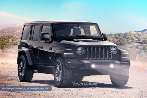 2018 Jeep Wrangler Could Look Like This