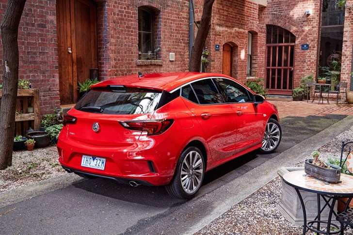 Closer Look At Holden's Tech-Laden 2017 Astra