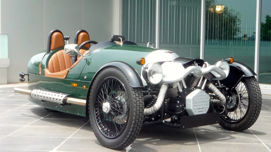 News - Final Curtain Call For Morgan 3 Wheeler