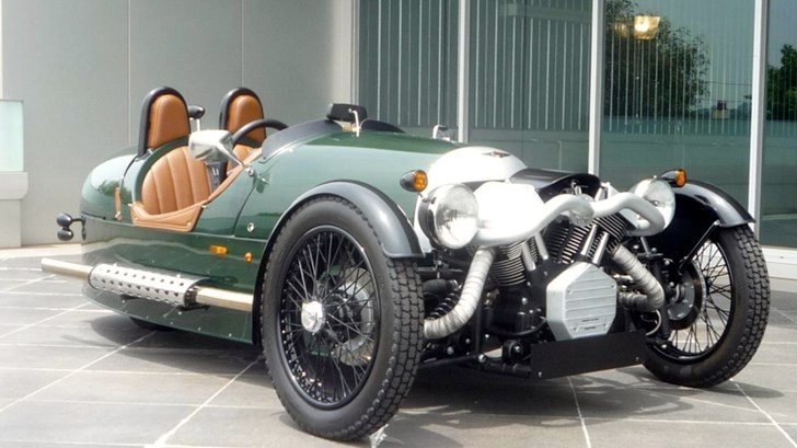 Final Curtain Call For Morgan 3 Wheeler