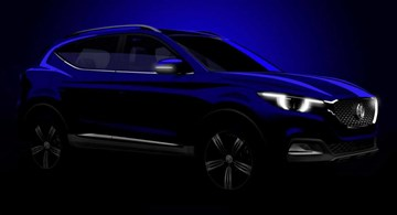 MG Teases New 'ZS' SUV Ahead Of Launch