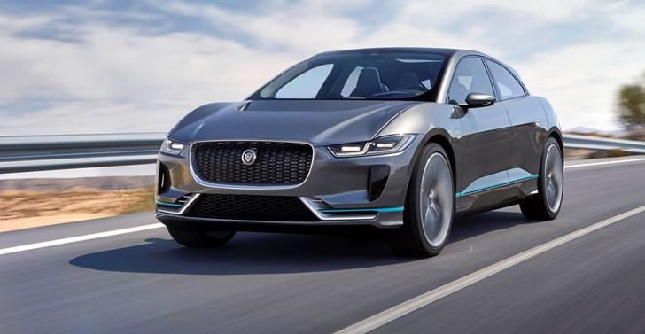 Jaguar I-Pace Concept Unveiled