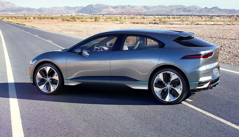 Jaguar Unveils I-Pace SUV... Concept Thumbnail