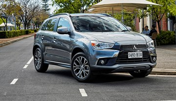 2017 Mitsubishi ASX Detailed