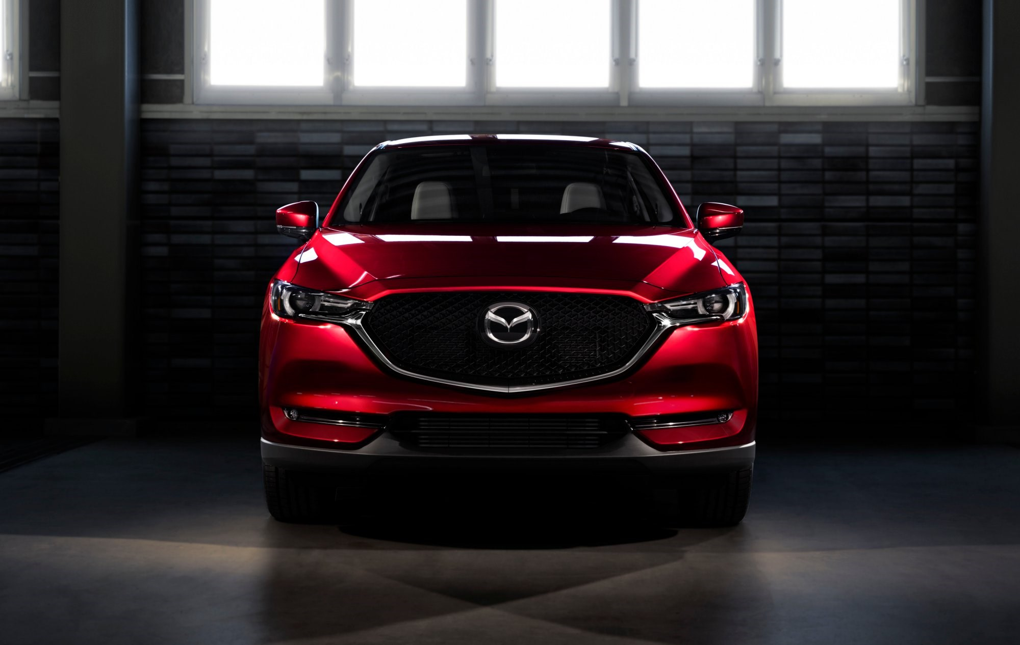 2017 Mazda CX-5 Breaks Cover Thumbnail