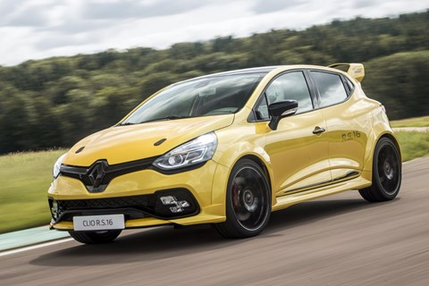 Renault Shelves 'Ultimate' Clio RS16's Production Plan