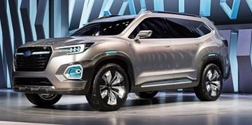 Subaru Unveils Viziv-7 Concept
