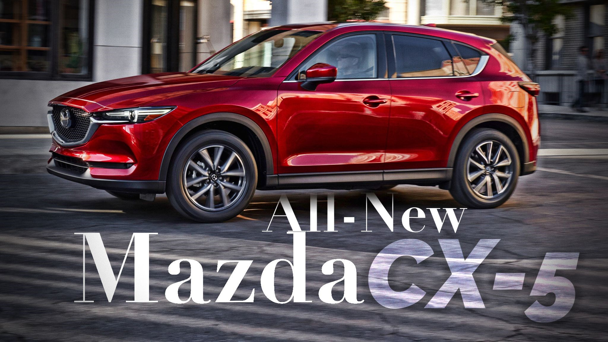 2017 Mazda CX-5 Breaks Cover