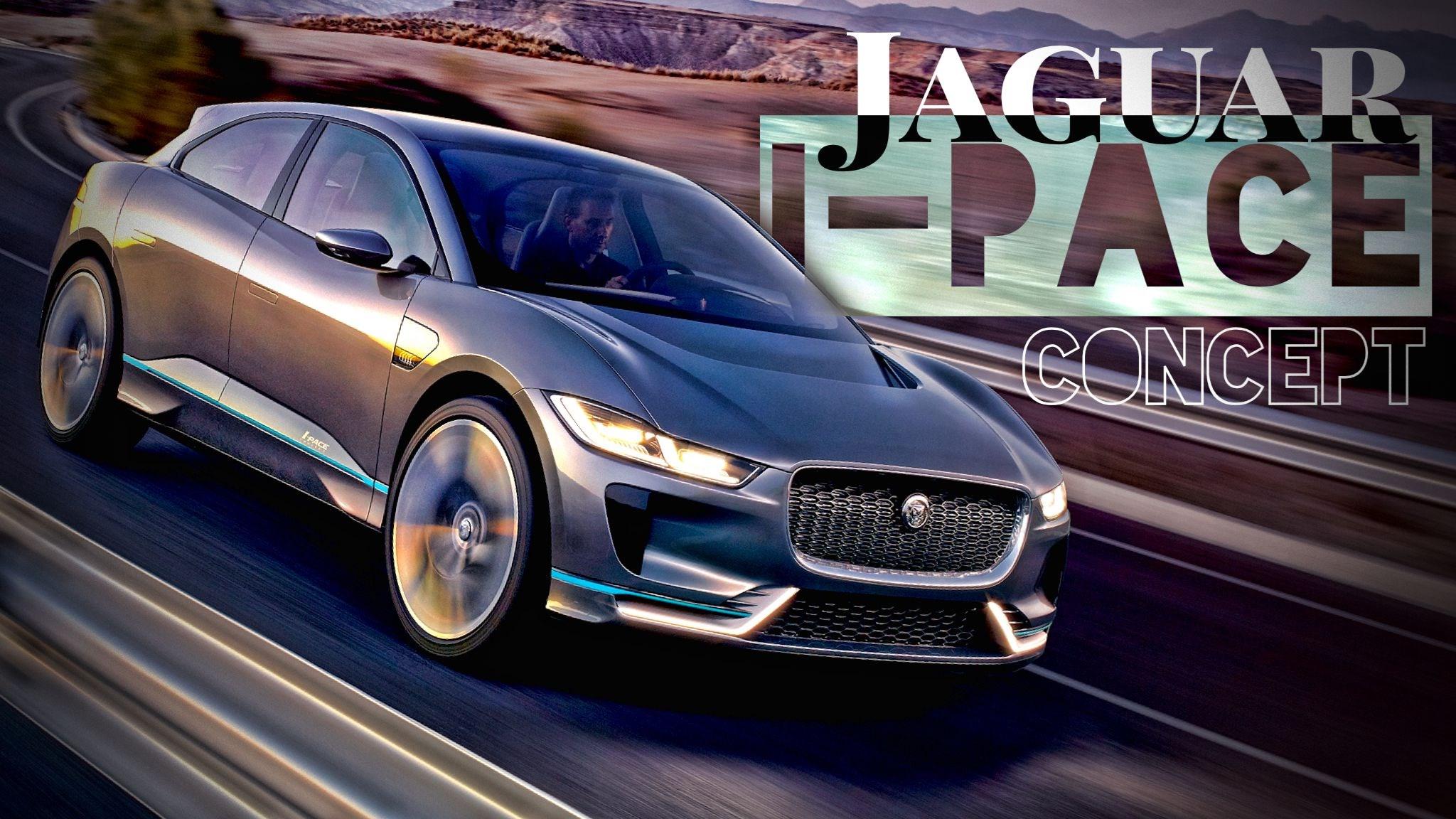 Jaguar Unveils I-Pace SUV... Concept
