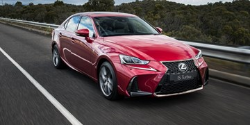 Lexus IS Sedan Updated For 2017
