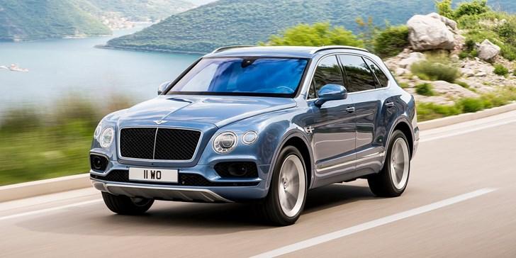 2017 Bentley Bentayga Diesel, $335,000