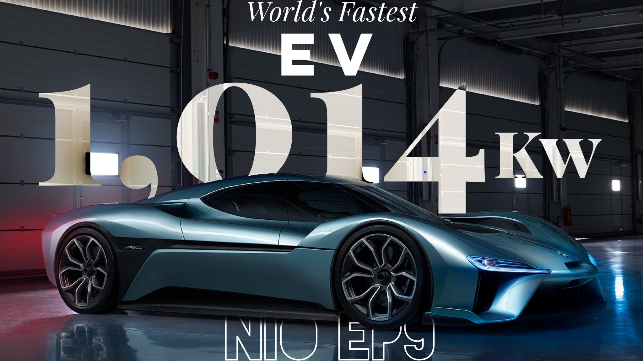 Here's The 1,014kW Nio EP9 Supercar Scorching The Nurburgring