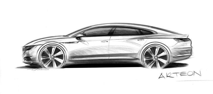 2018 Volkswagen Arteon To Replace CC