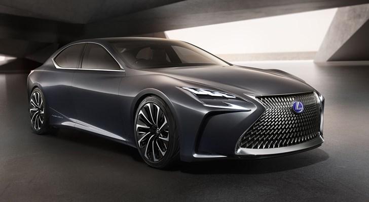 Flagship Lexus LS To Gain Hydrogen Option
