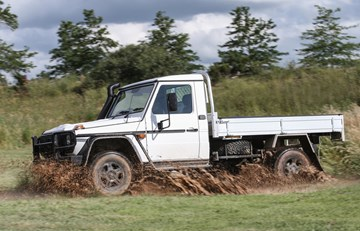 Mercedes-Benz G-Professional Cab Chassis Makes Oz Landfall