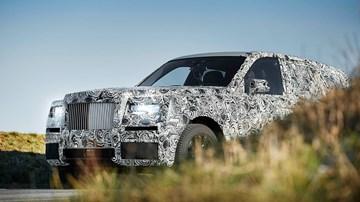 2018 Rolls-Royce Cullinan Teased